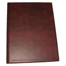 BCW Plain Burgundy Trading Card Combo Album with 9-Pocket Pages