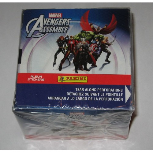 Factory Sealed 50 Pack Box 2013 Panini Marvel Avengers