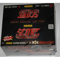 Sealed Unopened 24 Pack Box 2014 Score NFL Football Trading Cards