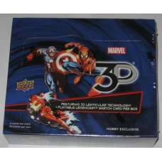 Factory Sealed 20 Pack Hobby Box 2015 Upper Deck Marvel 3D Trading Cards