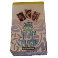 Sealed Box 1991 Star Pics The Soaps of ABC feat. All My Children Trading Cards