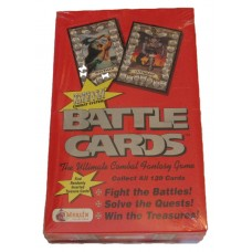 Sealed Booster Box 1993 Merlin Battle Cards Fantasy Combat Collectible Card Game