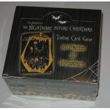 Factory Sealed Booster Box NECA Nightmare Before Christmas Trading Card Game