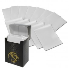 Pack of 80 Boxed BCW White Matte Deck Guards MTG CCG Gaming Card Sleeves pokemon