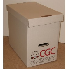 Official CGC Graded Magazine Slab Corrugated Cardboard Storage Box
