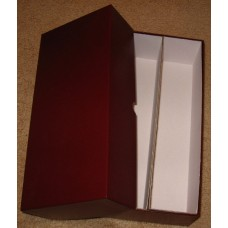 Guardhouse 12 Inch Maroon Double Row Cardboard Graded Coin Slab Box