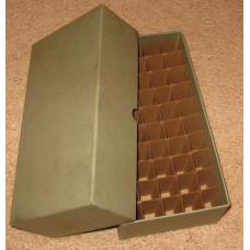Guardhouse 50 US Dime Coin Tube Heavy Duty Green Matte Storage Box