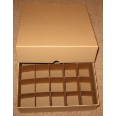 Guardhouse 25 US Large Silver Dollar Coin Tube Heavy Duty Tan Matte Storage Box
