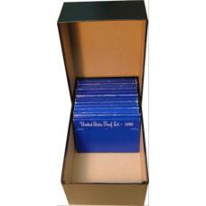 Guardhouse Heavy Duty Black Proof Set Coin Storage Box