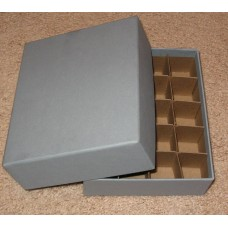 Guardhouse 20 US Small Dollar Coin Tube Heavy Duty Gray Matte Storage Box