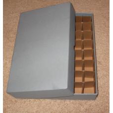 Guardhouse 40 US Small Dollar Coin Tube Heavy Duty Gray Matte Storage Box