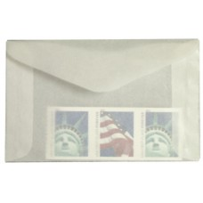1000 Guardhouse #2 Acid Neutral Glassine Stamp Envelopes 2 5/16 x 3 5/8 sleeves