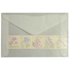 1000 Guardhouse #4 Acid Neutral Glassine Stamp Envelopes 3 1/4 x 4 7/8 sleeves