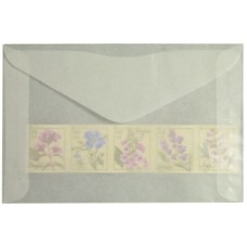 1000 Guardhouse #4.5 Acid Neutral Glassine Stamp Envelopes 3 1/8 x5 1/16 sleeves