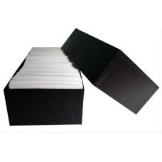 Guardhouse #6 Glassine Stamp Envelope Black Chipboard Storage Box