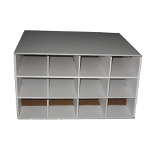 BCW Baseball / Trading Card House Storage Box - Holds 12 800ct Boxes