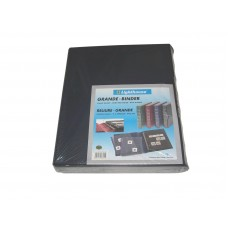 Lighthouse Blue Classic Grande 3-Ring Leatherette Binder Album with Slipcase