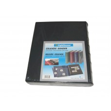 Lighthouse Green Classic Grande 3-Ring Leatherette Binder Album with Slipcase
