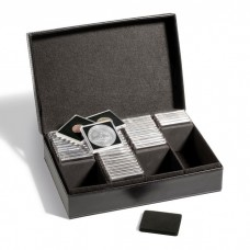 Lighthouse Presidio Black Storage Box for Quadrum Coin Snaps or 2x2 Paper Flips