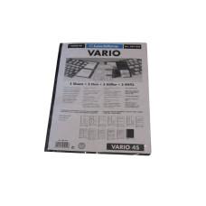5 Lighthouse Vario 4 Pocket Black Stamp Stock Album Pages binder sheets