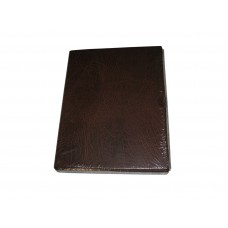 Lighthouse Brown Vario F Padded Leatherette 3 Ring Binder Album with Slipcase