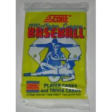 Factory Sealed Unopened Pack 1990 Score Baseball Trading Cards