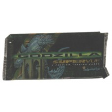 Sealed Pack of 1998 Inkworks Godzilla Supervue Premium Movie Trading Cards