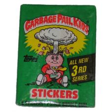 Sealed Pack 1986 Topps Garbage Pail Kids Series 3 Sticker Cards