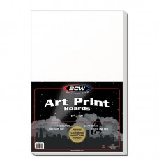 Pack of 100 BCW 11 x 17 Acid Free Art Print Backing Boards 11X17