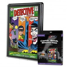BCW UV Protected Silver Age Comic Book Showcase Wall Mountable Display