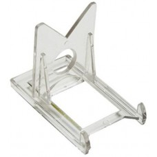 Case of 400 Clear Plastic 2 Piece Clear Plastic Trading Card Stands