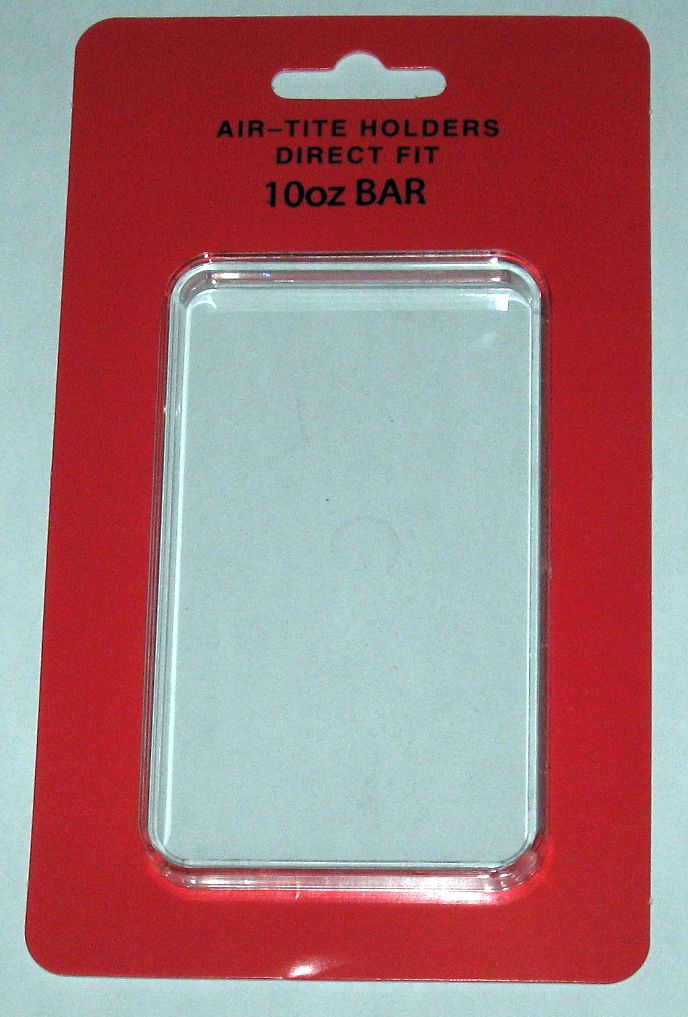 10 Airtite Direct Fit 10 Oz Ounce Silver Bar Ingot