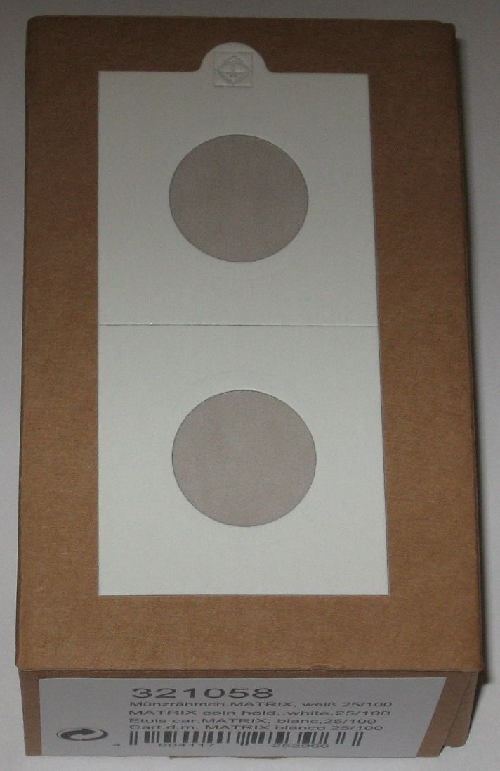 400 Lighthouse Self Adhesive 2x2 Penny Dime 20mm Coin Flips paper holders